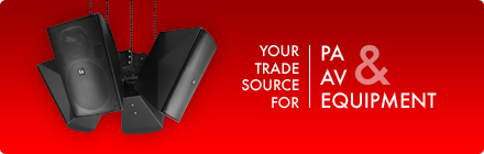 Your trade source for PA & AV equipment
